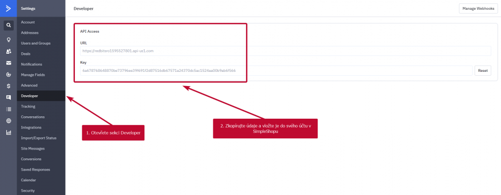 Activecampaign API