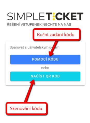 Možnosti propojení aplikace s uživatelským účtem