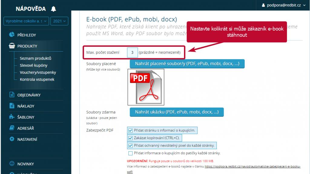 e-book - pocet stazeni